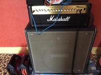 Marshall 100amp and 100watt Speaker for Sale,