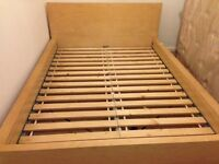 Ikea Malm Double Bed Frame - Disassembled and can deliver if need to.