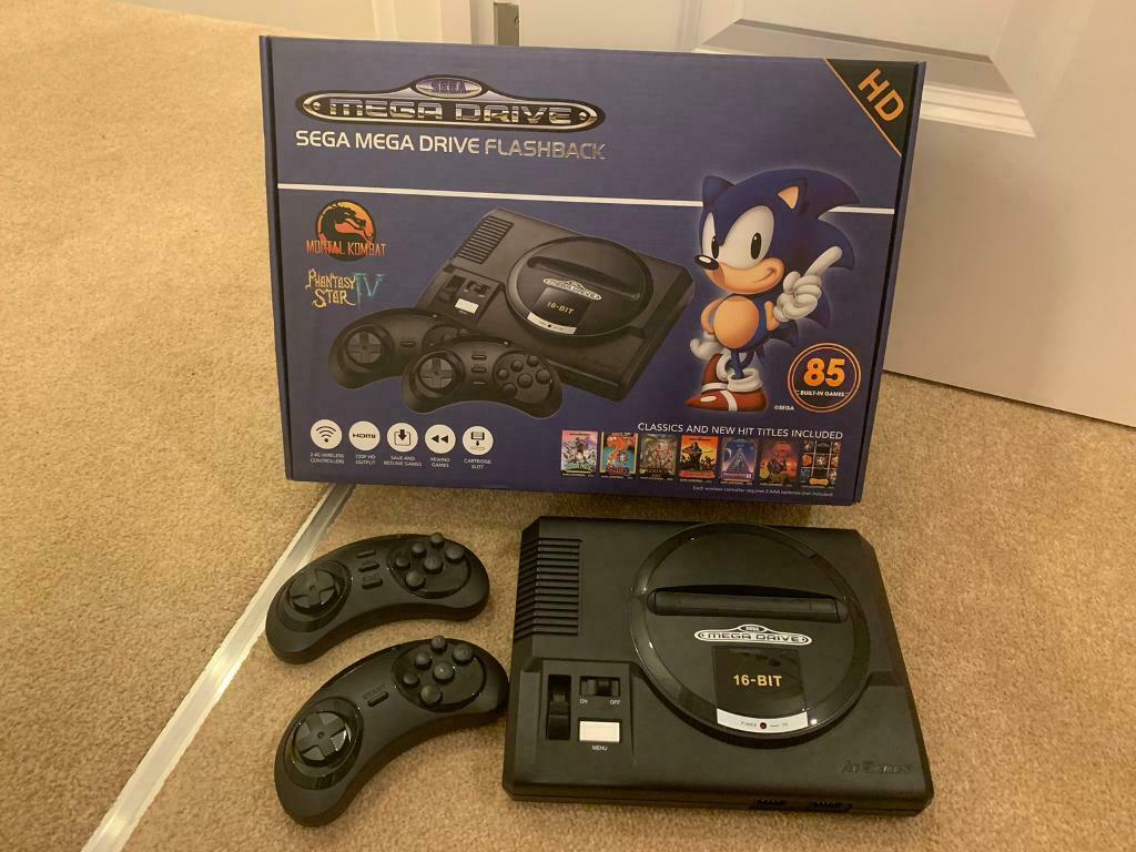 Sega MegaDrive HD Flashback inc 85 Games | in Eastleigh, Hampshire | Gumtree