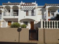 Costa Blanca, Spain. 2 bedroom townhouse sleeps up to 4. English TV, A/C. JUNE = £265 pw
