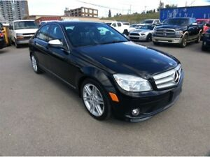 2008 Mercedes-Benz C-Class / 350 / AWD / S/ROOF / LEATHER