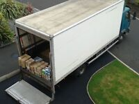 MAN AND VAN - Large Lorry Removals - Storage - Crate Hire