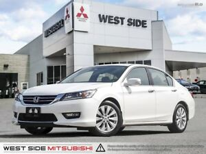2015 Honda Accord Sedan EX-L-One Owner-Low KMs-Siriusxm-Backup C