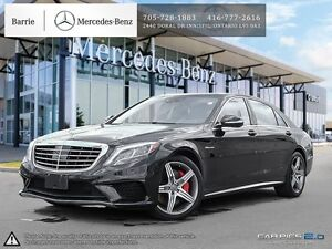 2014 Mercedes-Benz S-Class Rare S63! Accident Free! One Owner!