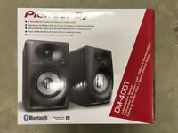 Pioneer DM-40 BT DM40 bluetooth blue tooth active desktop studio monitor speakers *brand new*
