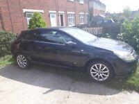 Cheap Vauxhall Astra Black 1.9CDTi 3 door for sale 120bhp