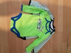 Baby puma vest long sleeves