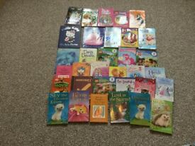 Girls books age 6 approx
