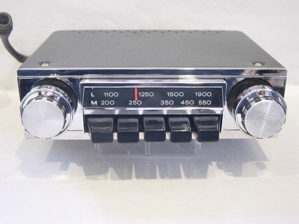 Vintage Car Radio Conversion 17