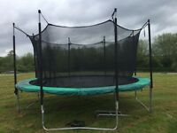 ZERO GRAVITY ULTIMATE 3 TRAMPOLINE - 14ft