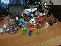 Skylanders xbox 360 figures with portal