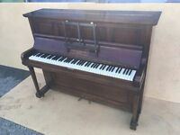Upright Piano with stool by George Rogers & Sons FREE DELIVERY