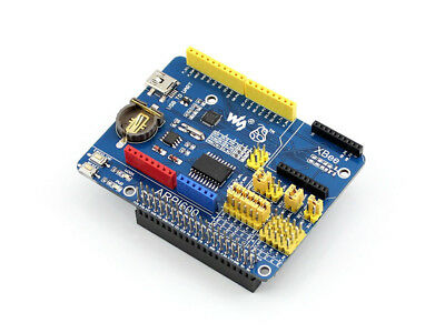 Waveshare Arpi600 Io Expansion Board For Raspberry Pi Arduino Xbee Onboard Rtc