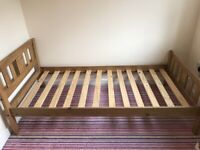 Double and Single Bed frames for Sale. Timber frame beds either individually or together.