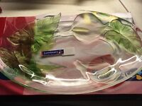Boxed luminarc glass ware 3 pieces