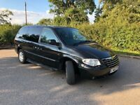 Chrysler grand voyager limited xs stow n go top spec diesel