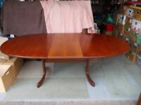 G Plan table and six chairs good condition