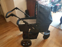 HAUCK VIPER 3 Wheel Travel System 3-in-1 RRP: £229