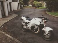 Suzuki gsxr 600 quick sell long mot very good bike
