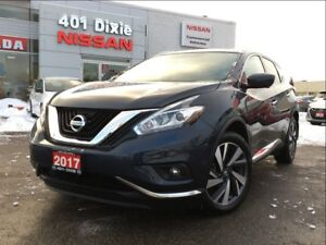 2017 Nissan Murano PLATINUM AWD| LEATHER| 20 ALLOYS| COOLED STS|