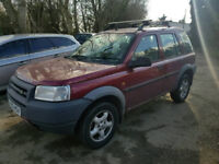++++QUICKSALE WANTED LAND ROVER FREELANDER LOW MILES+++FULL LEATHER WITH MOT DRIVES GOOD