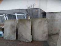 reclaimed natural stone slabs