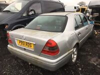 Mercedes Benz c180 1996 year breaking spare parts available