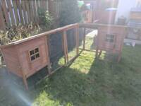 Rabbit or Chicken Hutch L Shaped