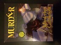 Board game murder mystery