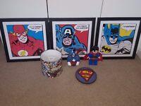 Used Kids marval bedroom accesories