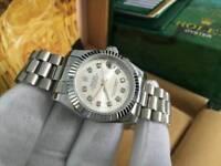LADIES Rolex Datejust, Silver Dial