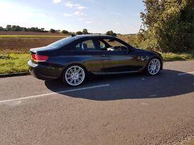 BMW 330D M SPORT 2007 FSH NAV LEATHER
