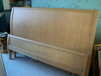 king sleigh style bed frame including delivery(hull & outskirts)