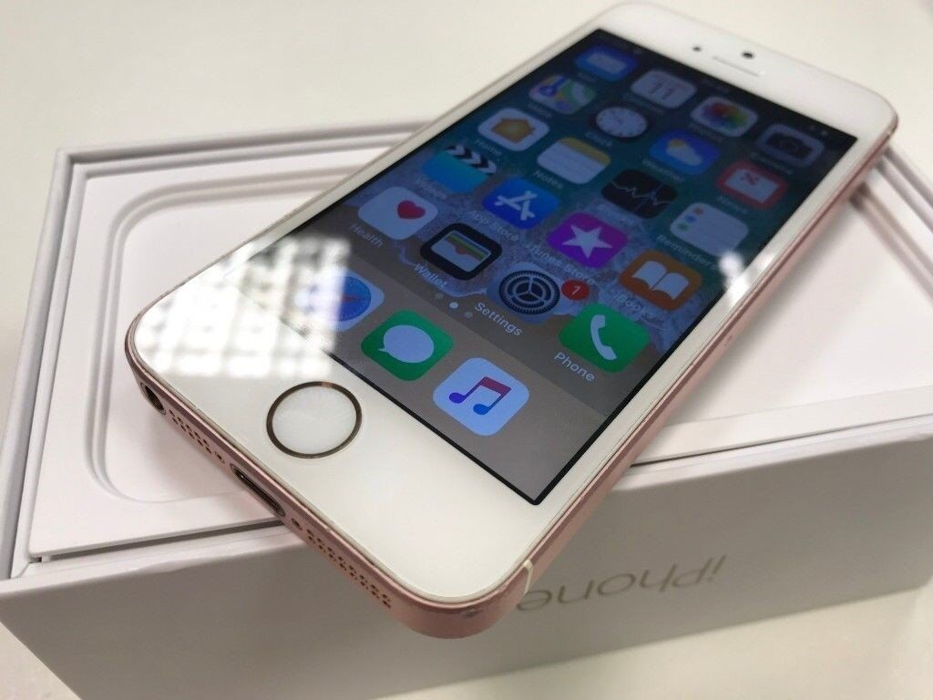 Apple Iphone Se 16gb Rose Gold Unlocked Mobile Smartphone Dual