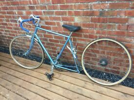 Barn Find Vintage 50s/60s Raleigh Road Bike / Racer For Restoration
