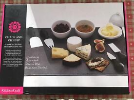 Brand new cheese serving gift set