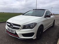 2014 MERCEDES CLA 1.8CDI SPORT IN CIRRUS WHITE