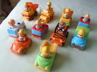 ELC Happyland vehicles and figures