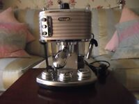 DeLonghi Scultura ECZ 351.BG 6-Cup Coffee Maker - Beige Fully Working but Faulty