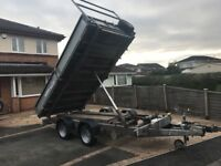 12ft IFOR Williams tipper trailer excellent condition