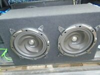 TWIN SUB AND STEREO