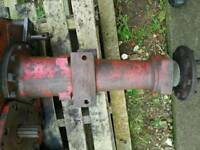 International 414 434 444 left hand rear axle complete