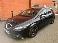 57/2008 SEAT LEON FR 2.0 TDI REMMAPED XENONS TOP SPEC MINT CONDITION HPI CLEAR BARGAIN!!