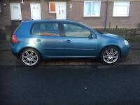 VW GOLF 2.0 GT TDI 140 2006 5 DOOR HATCHBACK
