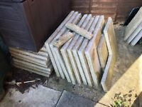 Free Paving Slabs - Collection Only