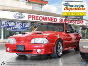 1992 Ford Mustang GT ***MANUAL, COUPE, INTAKE***