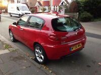 Beautiful and Perfect Driving Alfa Romeo 147 1.9 JTDM Lusso 5dr