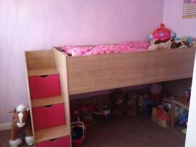 Kids mid sleeper bed