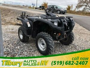 2009 Yamaha GRIZZLY 550 FI *Gun Rack & Winch*