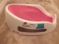 Angelcare pink baby bath seat